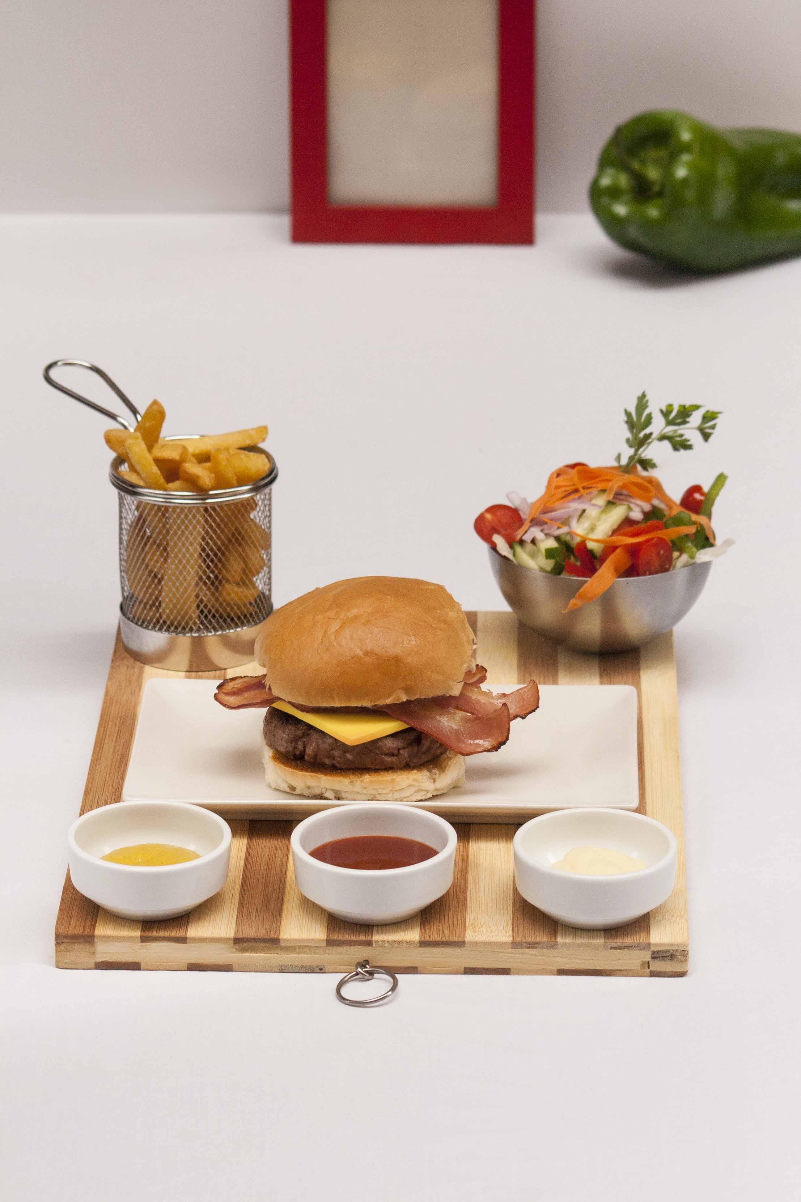 Fotografía de alimentos Burger
